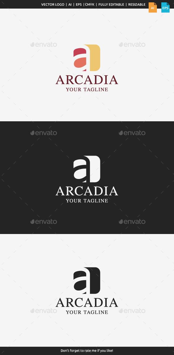 GraphicRiver Arcadia A Logo 10463321