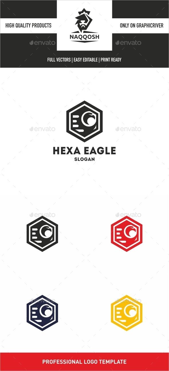 GraphicRiver Hexa Eagle 10463774