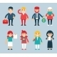 Business Male and Female Characters with Accessories - GraphicRiver Item for Sale