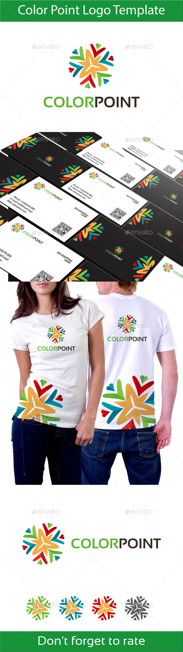 GraphicRiver Color Point Logo 10464023