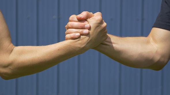 VideoHive Handshake 2 10464590