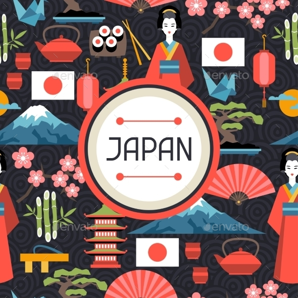 GraphicRiver Japan Seamless Pattern 10464592