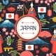 Japan Seamless Pattern - GraphicRiver Item for Sale