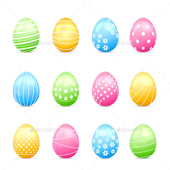 GraphicRiver Easter Eggs 10464621