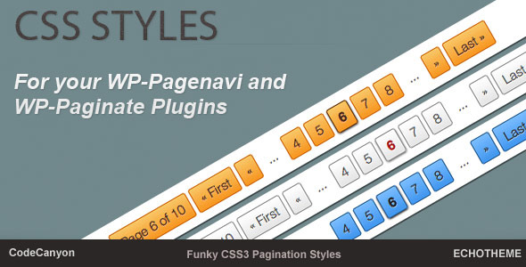 Css Styles for Your Wp-Pagenavi Plugin - CodeCanyon Item for Sale