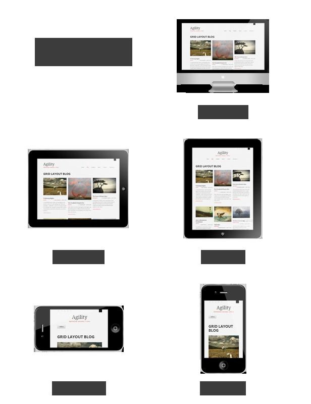 Agility:响应式设计兼容移动设备访问