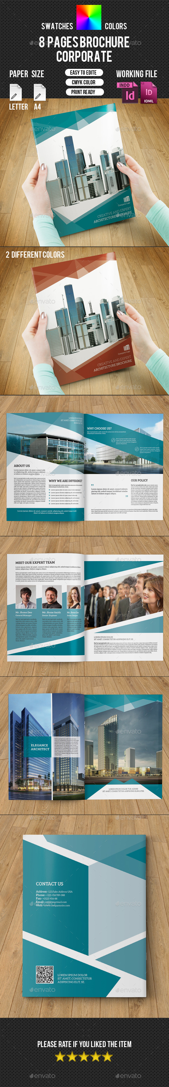 GraphicRiver Corporate Brochure-V201 10466001