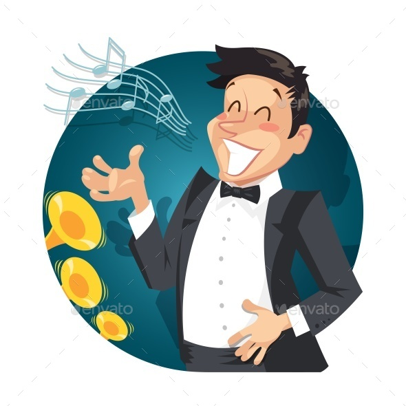 GraphicRiver Singer Sing with Orchestra 10466491