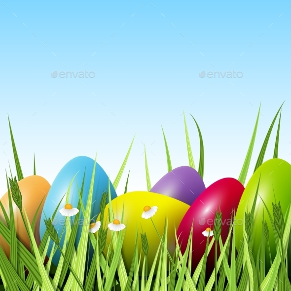 GraphicRiver Happy Easter 10466659