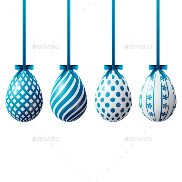GraphicRiver Isolated Easter Eggs 10466914
