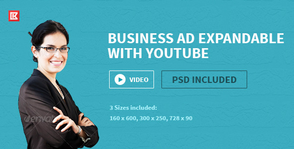 CodeCanyon Business HTML5 Google Ad Template Two 10467041