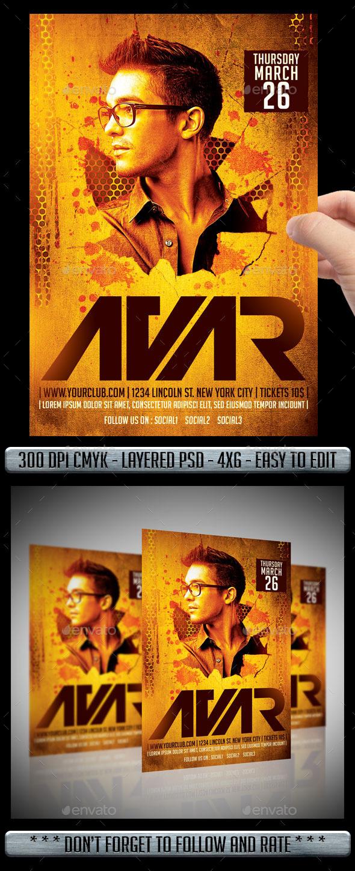 GraphicRiver Club DJ Flyer 10467044