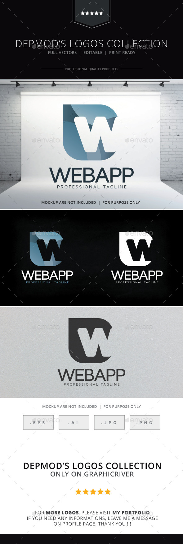 GraphicRiver Web App Logo 10467648