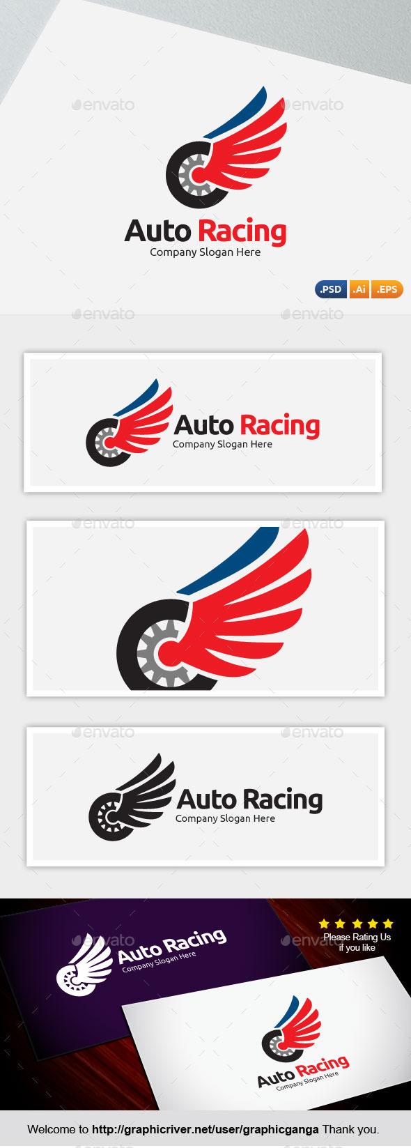 GraphicRiver Auto Racing 10467998