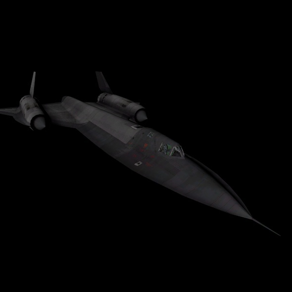 "Lockheed SR-71 ""Blackbird"" - 3DOcean Item for Sale"