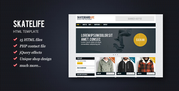 ThemeForest SkateLife 1054210