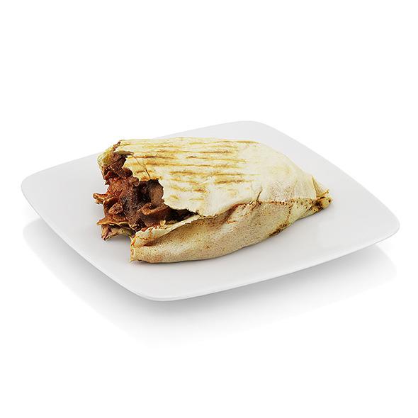 Bitten beef in tortilla - 3DOcean Item for Sale