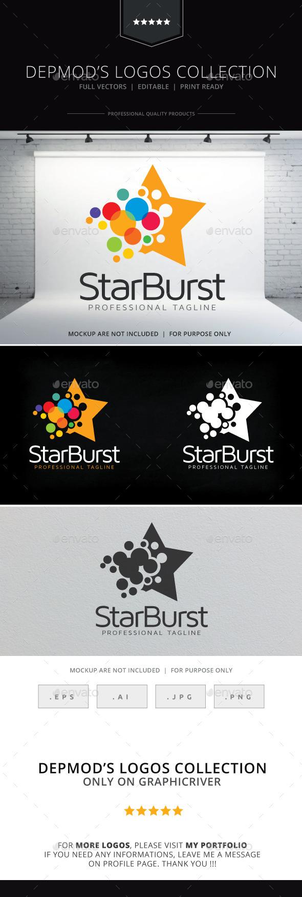 GraphicRiver Star Burst Logo 10468818