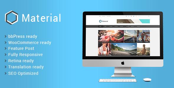 Material - Premium Magazine WordPress Theme