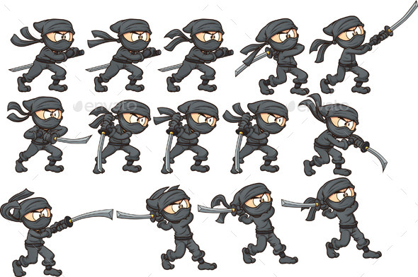 GraphicRiver Katana Attack 10468933