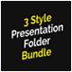 Corporate Presentation Folder Bundle - GraphicRiver Item for Sale