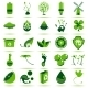 Green Eco Icons 2 - GraphicRiver Item for Sale