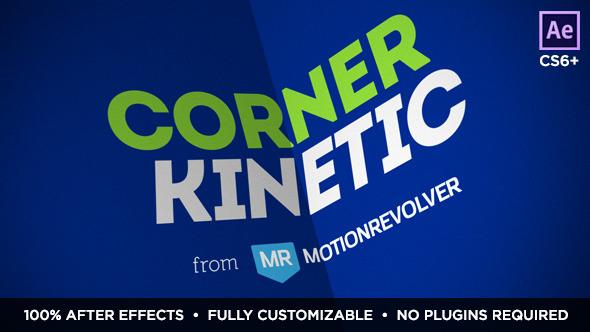VideoHive Corner Kinetic 10469191