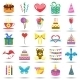 Happy Birthday Icons - GraphicRiver Item for Sale