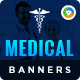 Medical Banners - GraphicRiver Item for Sale