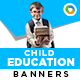 Children Education Banners - GraphicRiver Item for Sale