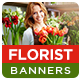 Florist Banners - GraphicRiver Item for Sale