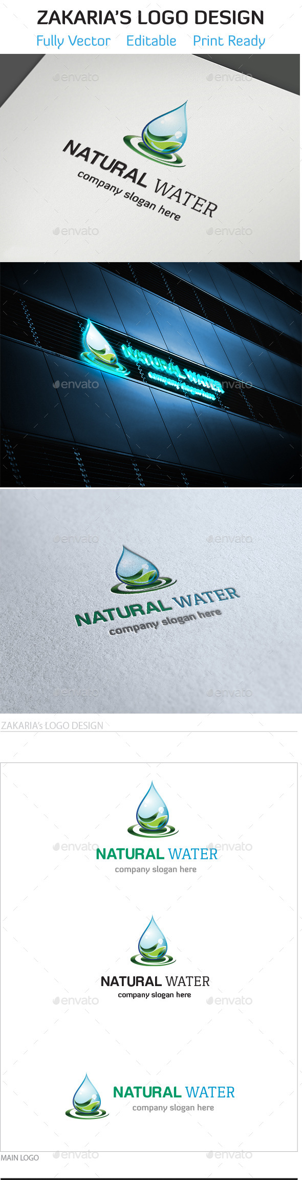 GraphicRiver Natural Water 10469741