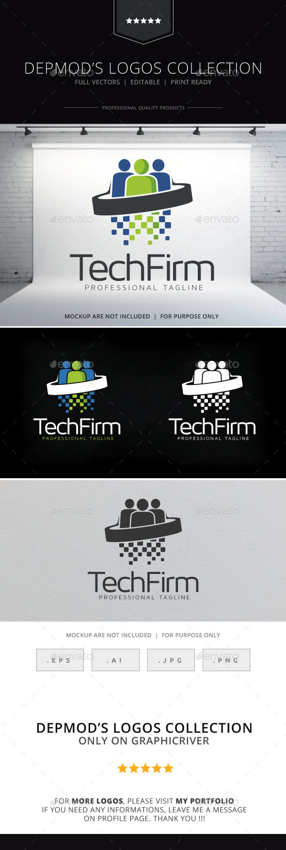 GraphicRiver Tech Firm Logo 10469806