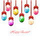 Colorful Easter Eggs with Bow - GraphicRiver Item for Sale