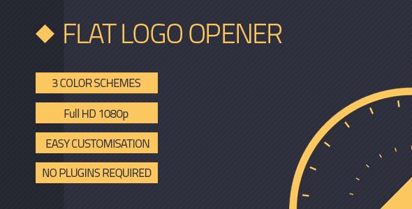 Flat Logo Opener 10470077 - Free Download