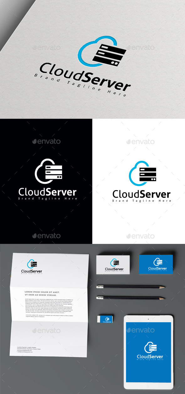 GraphicRiver Cloud Server 10470230