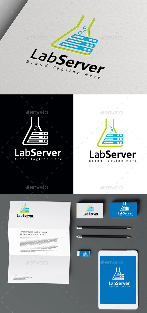 GraphicRiver Lab Server 10470233