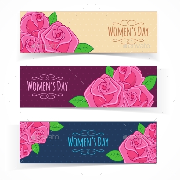 GraphicRiver Banners for Women s Day 10470268