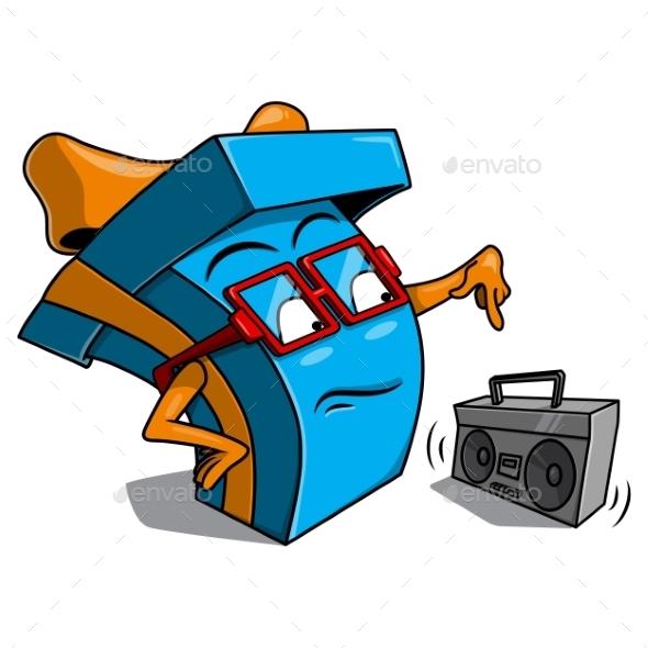 GraphicRiver Present Box Character 10470362