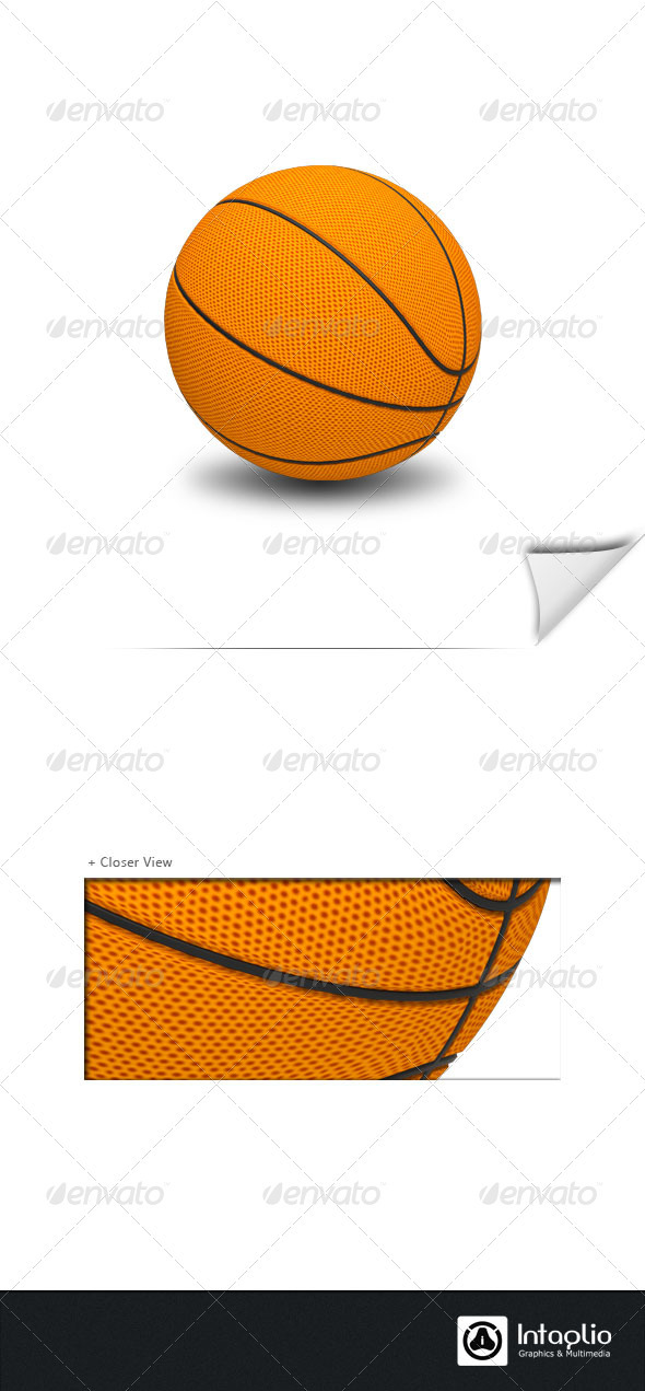 GraphicRiver Basket Ball 1054514