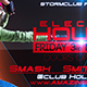 Electro House Facebook Cover V1 - GraphicRiver Item for Sale