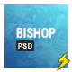 The Bishop - PSD Template - Corporate PSD Templates