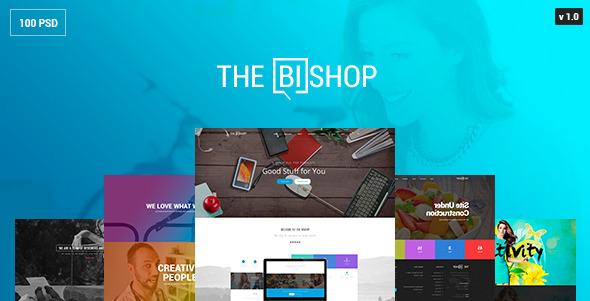 ThemeForest The Bishop PSD Template 10470798