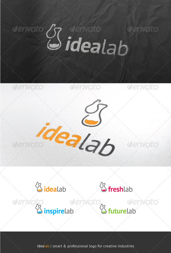 Idea Lab - Objects Logo Templates