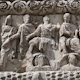 Bas-Relief On The Ancient Arch Of Galerius In Thessaloniki, Greece 1 - VideoHive Item for Sale