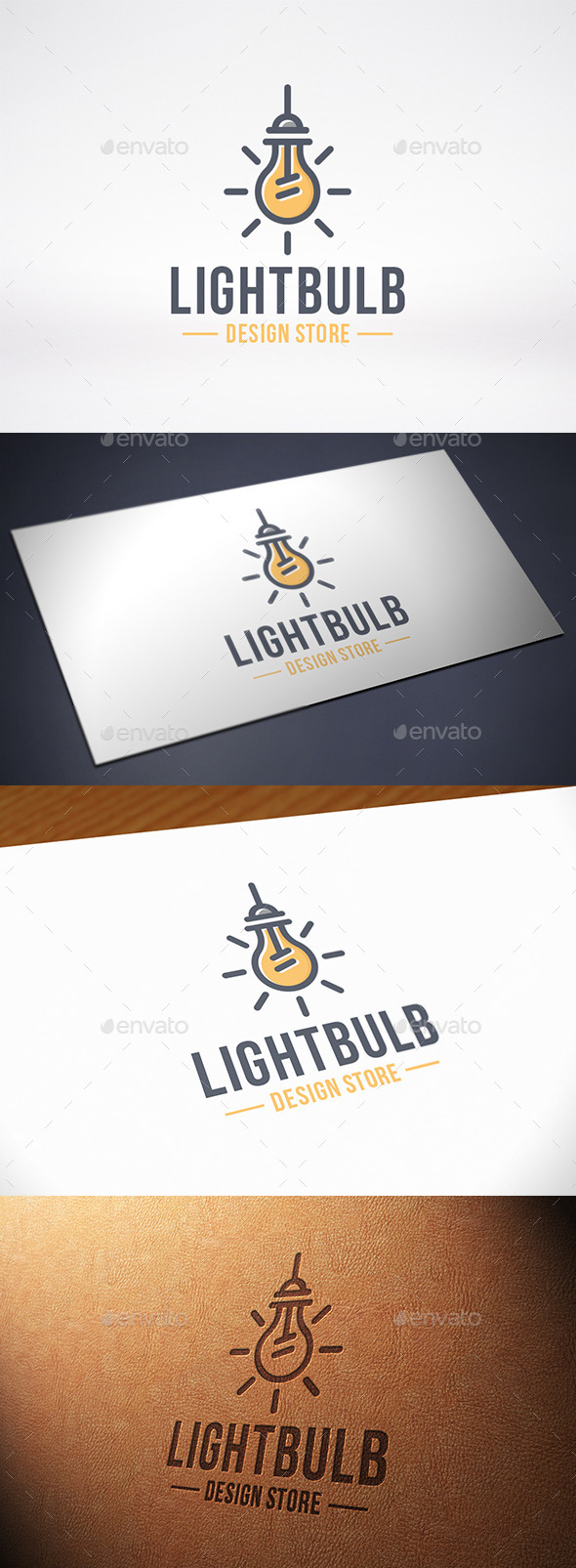 Idea Bulb Logo Template