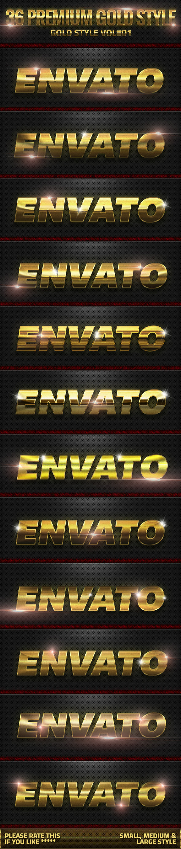 GraphicRiver 36 Gold Style V01 10472184