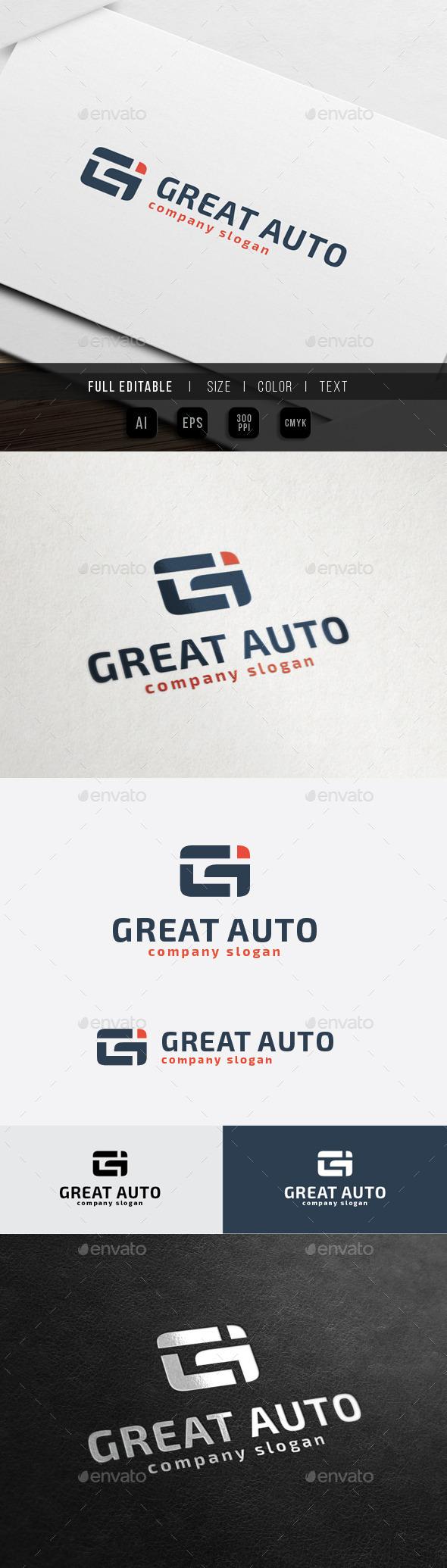 GraphicRiver Great Auto G Gi letter 10472224