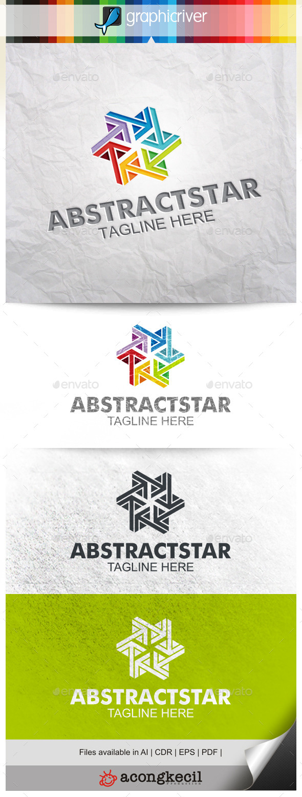 GraphicRiver Abstract Star V.2 10472230