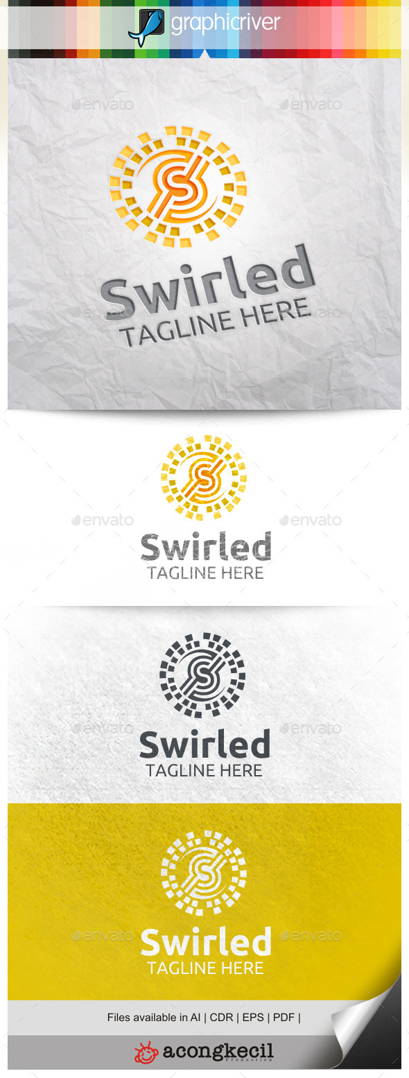 GraphicRiver Swirled V.2 10472290